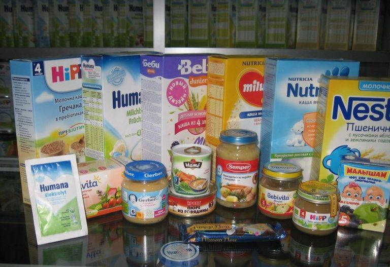 Как выбрать хорошее детское питание