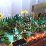 Детский огород на подоконнике