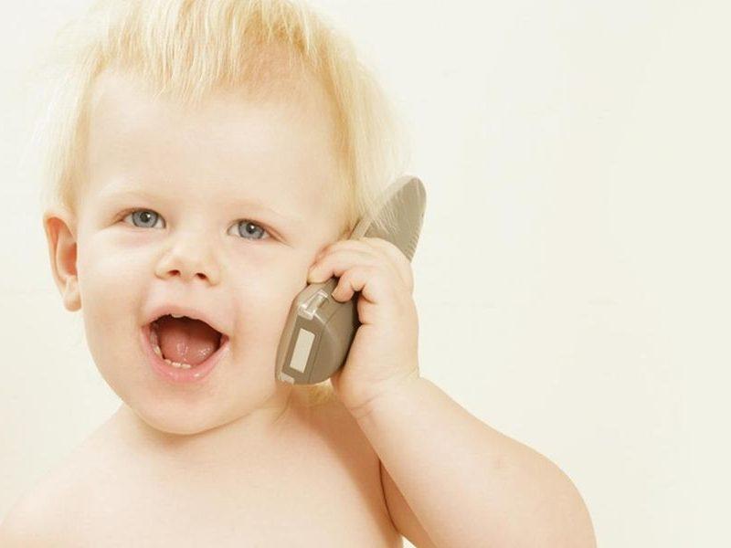 Ребенок рано начал говорить