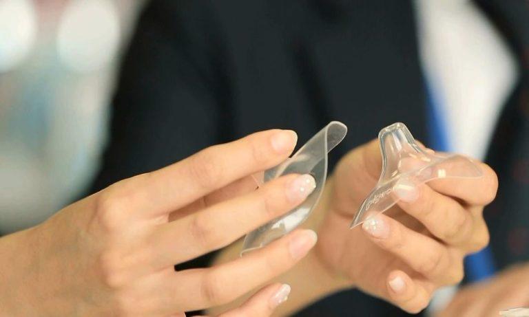Силиконовые и латексные накладки на грудь и соски для кормления